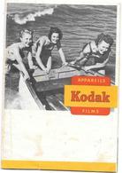 Ancienne POCHETTE Publicitaire  Vide De NEGATIFS PHOTOS KODAK - 3 JEUNES FEMMES EN MAILLOT POUSSENT UNE BARQUE - Other