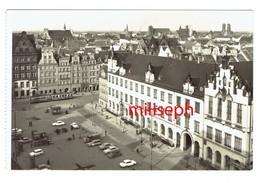 CP POLOGNE - WROCLAW - Widok Ogolny: Na Pierwszym Planie Sukiennice W Rynku       (4532) - Pologne