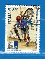 Italia °- Anno 2003 - CICLOCROSS, MONOPOLI . USATO. Unif 2707.  Vedi Descrizione - 2001-10: Usados