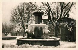 13556251 La_Chapelle-en-Vercors Fontaine Aux Ours En Hiver La_Chapelle-en-Vercor - Non Classificati