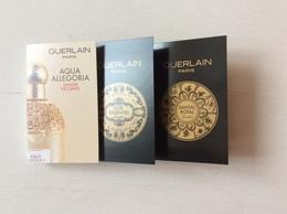 Lot 3 Échantillons - Cartas Perfumadas