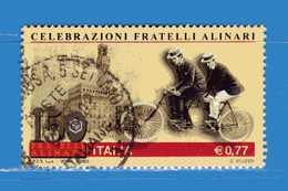 Italia °- Anno 2003 - FRATELLI ALINARI . USATO. Unif 2706.  Vedi Descrizione - 6. 1946-.. Republik