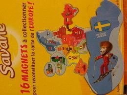 Magnet BROSSARD Europe Suède - Tourism
