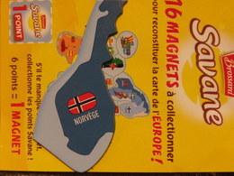 Magnet BROSSARD Europe Norvège - Tourism