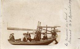 NIEUPORT  La  Traversée Du Chenal Le 9 Septembre 1909 - Belgique