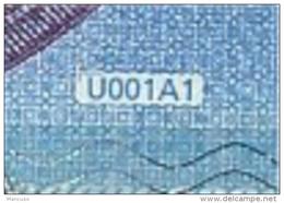 € 20  FRANCE  UA000   U001 A1 FIRST POSITION  DRAGHI  AUNC - EURO