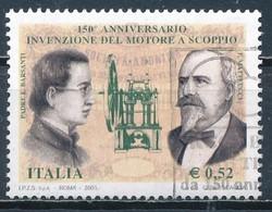 °°° ITALIA 2003 - INVENZIONE DEL MOTORE A SCOPPIO °°° - 1946-.. Republiek