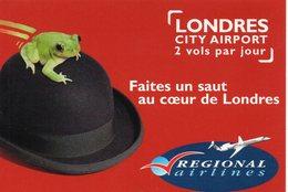 Aéroport Aérodrome Aviation Angers Londres City AIrport Régional Airlines - Aérodromes