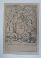 SUISSE - Gravure Héraldique XIXème - Aux Armes De Andreas De SALIS - Ex-libris
