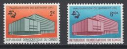 1970. République Démocratique Du Congo. COB N° 720/21 *, MH - Ungebraucht