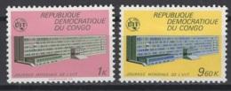 1970. République Démocratique Du Congo. COB N° 725/26 *, MH - Neufs