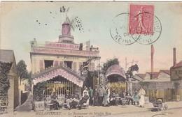 92. BOULOGNE - BILLANCOURT. CPA COLORISÉE. LE RESTAURANT DU MOULIN ROSE .ANNÉE 1907 - Boulogne Billancourt