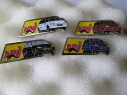 PIN'S   LOT 4  RENAULT   CLIO  NRJ - Renault