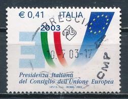 °°° ITALIA 2003 - PRESIDENZA ITALIANA DEL CONSIGLIO UNIONE EUROPEA °°° - 1946-.. Republiek