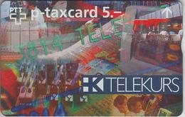 SUISSE - PHONE CARD - TAXCARD-PRIVÉE  *** TELEKURS *** - Switzerland