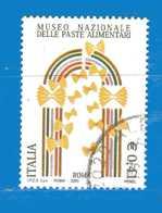 Italia °- Anno 2003 - PASTE ALIMENTARI.  USATO. Unif 2722.  Vedi Descrizione - 2001-10: Usados