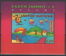 Nations Unies (New York) - Blocs-feuillets - YT 14 ** MNH - 1997 - Earth Summit - New-York - Siège De L'ONU