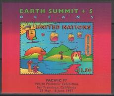 Nations Unies (New York) - Blocs-feuillets - YT 15 ** MNH - 1997 - Earth Summit - Pacific 97 - New-York - Siège De L'ONU