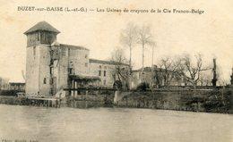 47  BUZT SUR BAIZE LES USINES DE CRAYONS DE LA CIE FRANCO BELGE - Other Municipalities