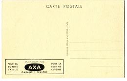 CPA  PUB Margarine AXA - 28 Chateau De MAINTENON - Publicité