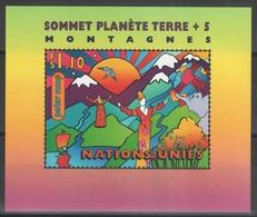 Nations Unies (Genève) - Blocs-feuillets - YT 9 ** MNH - 1997 - Sommet Planète Terre - Office De Genève