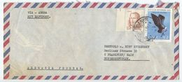 Chile 1977 Airmail Cover Santiago To Frankfurt Germany - Chile