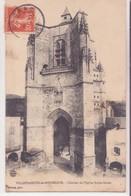 CPA  -  VILLEFRANCHE DE ROUERGUE - Clocher De L'église Notre Dame - Villefranche De Rouergue