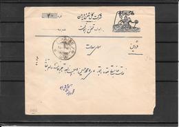 Persia-Iran ,cover Zendjan To Kazvin (telegram Mail?) ( Ref.547) - Irán