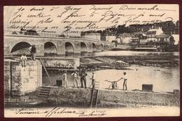 GRAY Le Barrage Scaphandrier * Haute-Saône 70100 * Plongeur Sous-marin Fleuve La Saône Pont  Scaphandrier - Gray