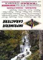 Calendrier °° 2007 - Imprimerie 20 - Cascade Asco - 7x10 - Calendari