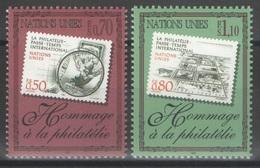 Nations Unies (Genève) - YT 338-339 ** MNH - 1997 - Philatélie - Office De Genève