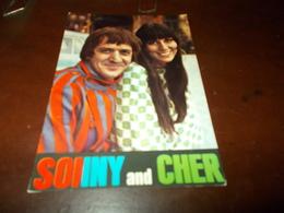 B728   Sonny And Cher Non Viaggiata - Cantanti E Musicisti