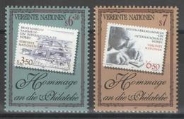 Nations Unies (Vienne) - YT 255-256 ** MNH - 1997 - Philatélie - Neufs