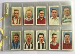 45 FIGURINE CALCIATORI INGLESI 1935  SERIE WILLS CIGARETTES RACCOLTA - Calcio
