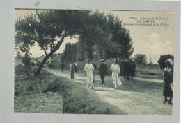 CP (85) La Faute - Avenue Conduisant à La Plage - France