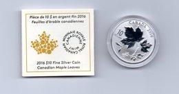 CANADA $ 10,-- CANADIAN MAPLE LEAVES  AG 2016 - Canada