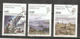 Groenland 2008 - Sciences - Stations Arctiques - Série Complète °  - 495/7 - Gebraucht