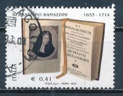 °°° ITALIA 2003 - BERNARDINO RAMAZZINI °°° - 6. 1946-.. Republic