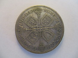 GB 2 Shilling / Florin 1929 - 1902-1971 : Post-Victorian Coins