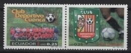 Ecuador (2002) Yv. 1669/70  /  Soccer - Futbol - Calcio - Football - Club Deportivo Cuenca - Clubs Mythiques
