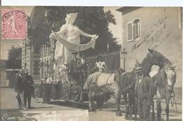 CPA 203 -  CAEN  Fête Du Souvenir Normand Cavalcade En 1905 - Caen