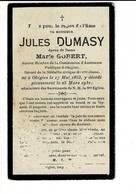 DP 7941 - JULES DUMASY - OBIGIES 1853 - 1931 - Images Religieuses