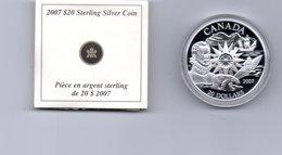 CANADA $ 20,-- INTERNATIONAL POLAR YEAR  AG PROOF 2016 - Canada