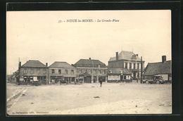CPA Noeux Les Mines, La Grande Place Et Boutiques - Noeux Les Mines