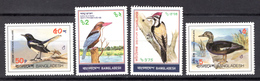 BIRDS - 1983 - BANGLADESH -  Mi.. Nr. 186/189 - NH - (CW4755.29) - Bangladesh