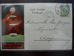 CPA - Potages Knorr 3 Assiettes 20 Centimes - Publicité