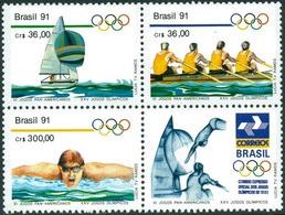 BRAZIL #2306-8 -  11th Pan American Games  1991  -  MNH - Brazil