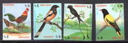 BIRDS - 1994 - BANGLADESH -  Mi.. Nr. 485/488C - NH - (CW4755.29) - Bangladesh