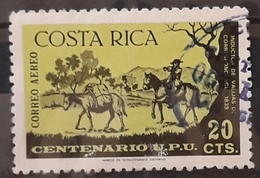 COSTA RICA 1976 The 100th Anniversary (1974) Of UPU. USADO - USED. - Costa Rica