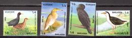 BIRDS - 2000 - BANGLADESH -  Mi.. Nr. 734/737 - NH - (CW4755.29) - Bangladesh